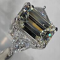 Pt900ダイヤモンド(3.05ct)付リング